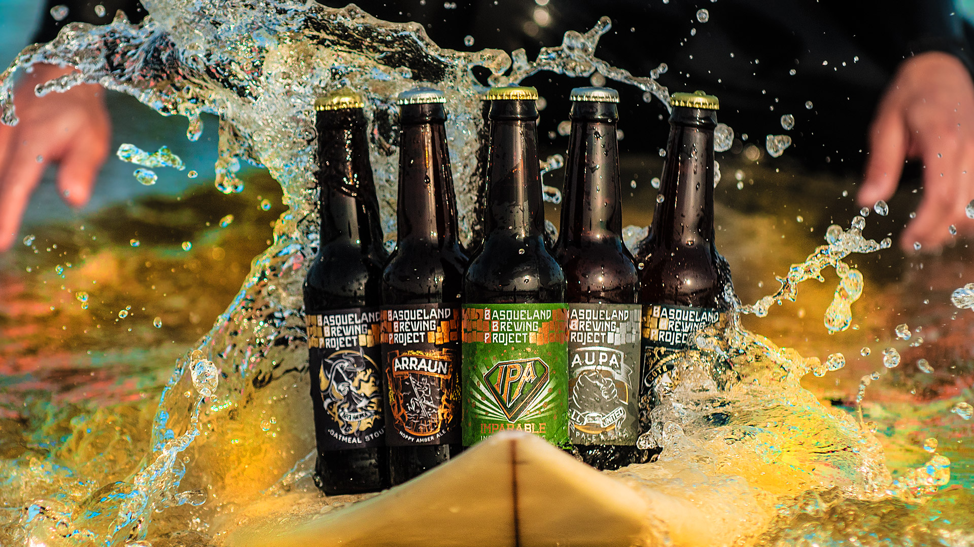 Cervezas artesanas BBP surf