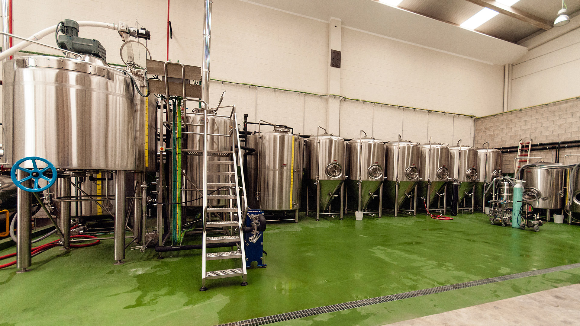 Fabrica de cerveza artesana BBP